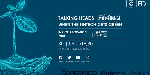 Fin4Change: When the Fintech Gets Green