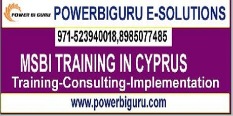 MSBI(SSIS,SSRS,SSAS)training in Cyprus,UAE tickets