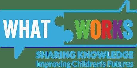 What Works Data Seminar tickets