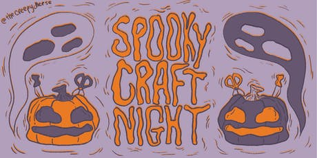 Spooky Craft Night tickets