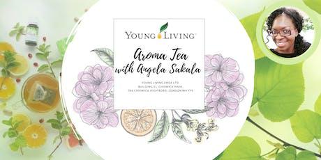 Aroma Tea with Angela Sakala tickets