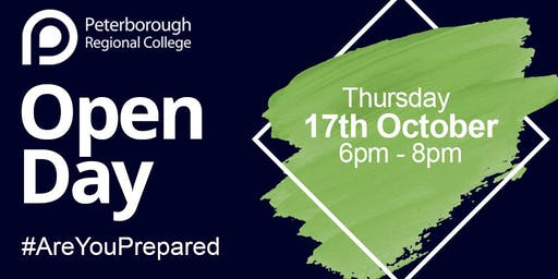 PRC Open Evening - Thursday 17th October 2019 (6pm - 8pm)
