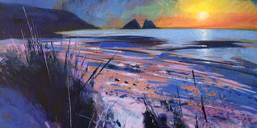 Sunset Coast - Acrylic Workshop with Glyn Macey and Winsor & Newton