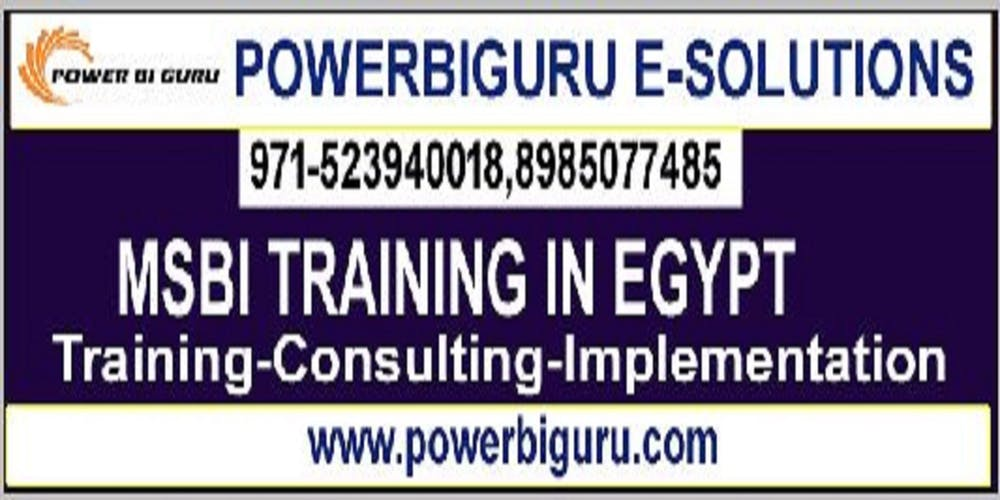 MSBI(SSIS,SSRS,SSAS)training in Egypt