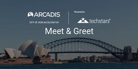Living in Smart Cities - Techstars Meet & Greet // Sydney tickets