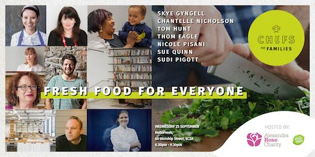 Chefs for Families: Fresh Food for Everyone tickets