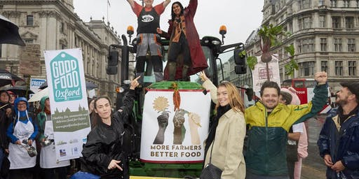 South Wales Coach for the Farming, Food and Climate Justice March