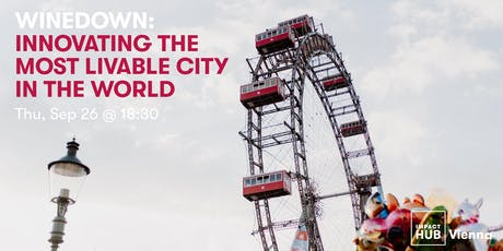 WineDown: Innovating the Most Livable City in the World tickets