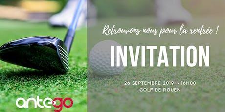 Golf'N GO, la rentrée conviviale d'AnteGO ! billets