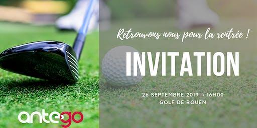 Golf'N GO, la rentrée conviviale d'AnteGO !