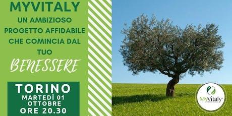 MYVITALY - MEETING TORINO Ottobre biglietti
