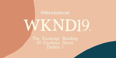 WKND 19 : The Conference for Youth & their Leaders  tickets