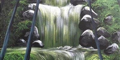 Emerald Falls Brush Party - High Wycombe