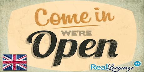 Open Day corsi di inglese per adulti, bambini e ragazzi biglietti