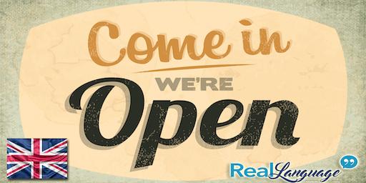 Open Day corsi di inglese per adulti, bambini e ragazzi