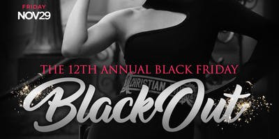 South Carolina's 12th Annual Black Friday Blackout