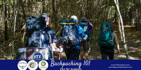 BCO & HTXO Present: Backpacking 101 sponsored by Osprey tickets