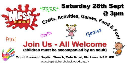 Messy Church, Blackwood - Sept 28th 2019