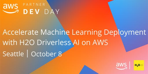 Accelerate Machine Learning Deployment with H2O Driverless AI on AWS