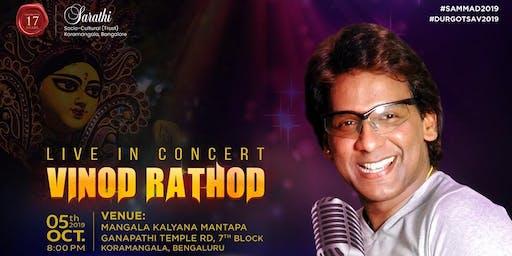 Vinod Rathod Live Concert at Sarathi - 2019 Durga Puja Event Celebrations