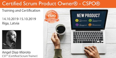 Certified Scrum Product Owner® (CSPO®) tickets