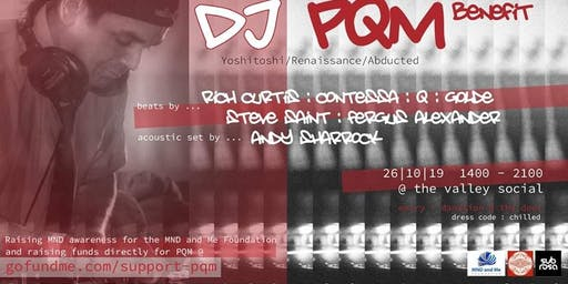 DJ PQM BENEFIT PARTY