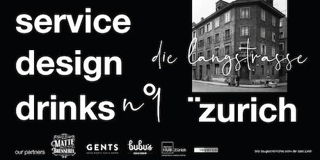 service design drinks - elena nierlich, han van de wetering & heinz vögeli Tickets
