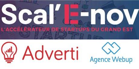 Workshop Scal'E-nov -  Webmarketing & Management des ressources billets