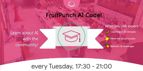 FruitPunch AI Code + Dinner tickets