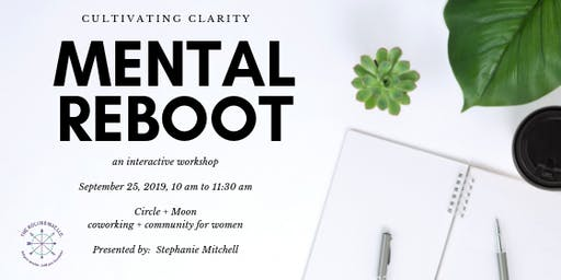 Mental Reboot:  Cultivating Clarity in Life & Business