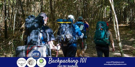 HTXO & BCO Present: Backpacking 101 sponsored by Osprey tickets