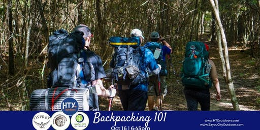 HTXO & BCO Present: Backpacking 101 sponsored by Osprey
