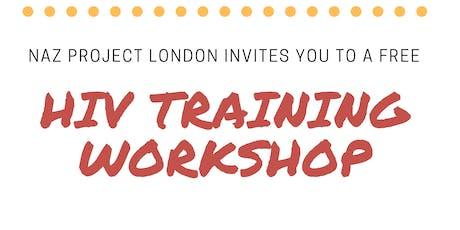 HIV & Stigma Training tickets