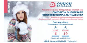 UDINE - Prevenzione e cura delle patologie invernali...