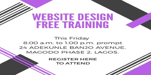 WEBSITE DESIGN FREE TRAINING