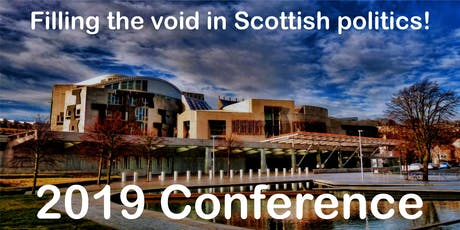 Annual Conference 2019: Filling the void in Scottish Politics tickets