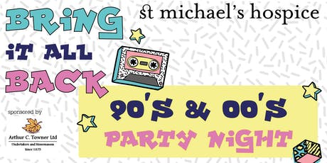 Bring it all Back - 90s & 00s night tickets