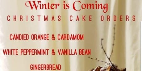 Alternative Christmas Cake Collection tickets