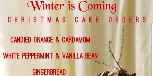 Alternative Christmas Cake Collection