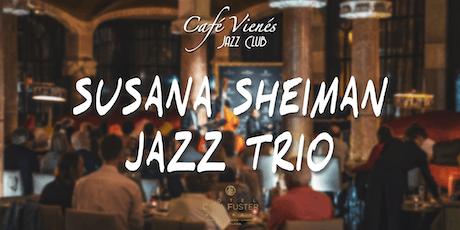 Música Jazz en directo: SUSANA SHEIMAN JAZZ TRIO entradas