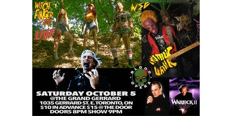 Witch Finger Horror Podcast LIVE at The Grand Gerrard WSG Blood Opera! tickets