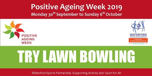 Try Lawn Bowls - Dungarvan - Sept 2019