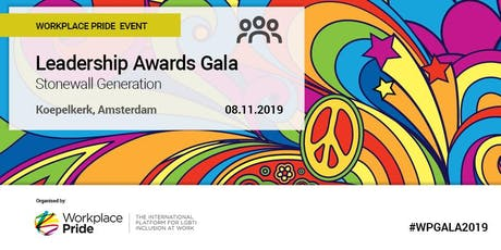 Workplace Pride 2019 Leadership Awards Gala tickets