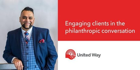 Engaging Clients in the Philanthropic Conversation  tickets