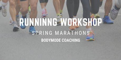 Running Workshop - Spring Marathons tickets