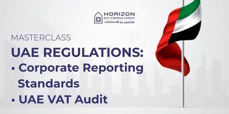 UAE REGULATIONS: corporate reporting standards tickets