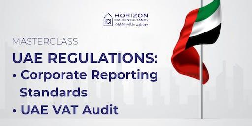 UAE REGULATIONS: corporate reporting standards