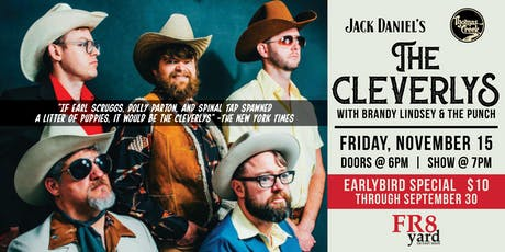 THE CLEVERLYS LIVE @ FR8yard! tickets