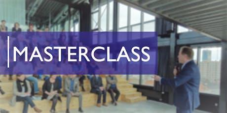 Masterclass - Comment bien mener une campagne de crowdfunding billets