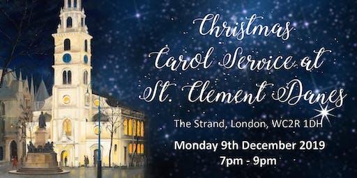 Carols at St Clement Danes